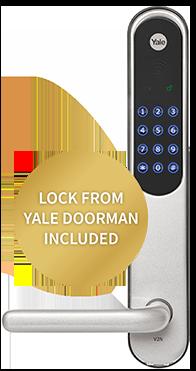 Yale Doorman included