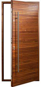 smart door with fingerscanner