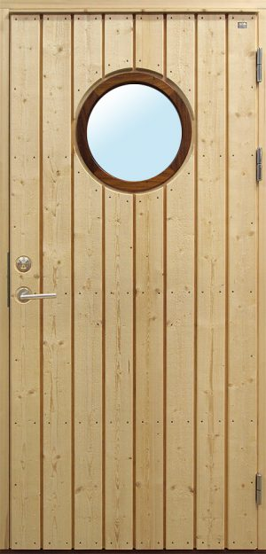wooden front doors with wound glass